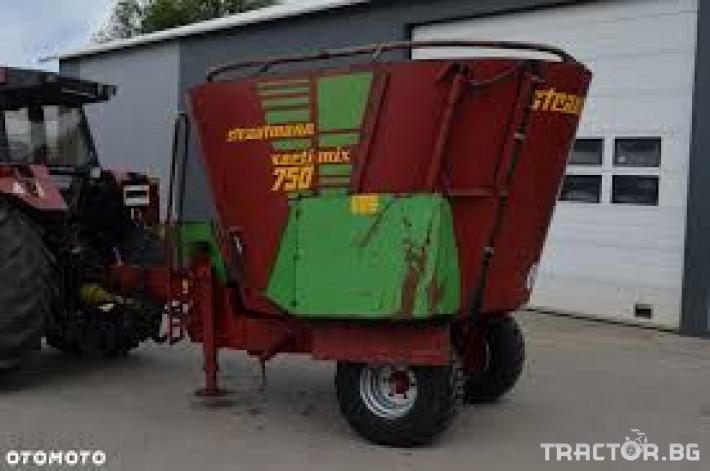 Машини за ферми STRAUTMANN 750 4 - Трактор БГ