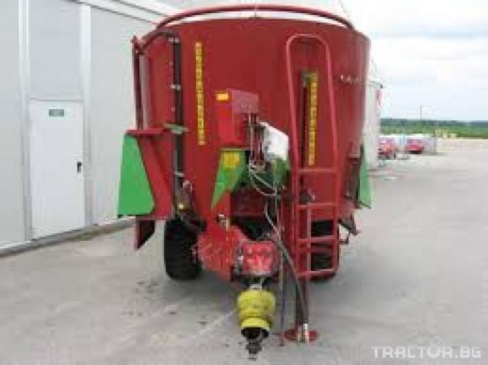Машини за ферми STRAUTMANN 750 0 - Трактор БГ