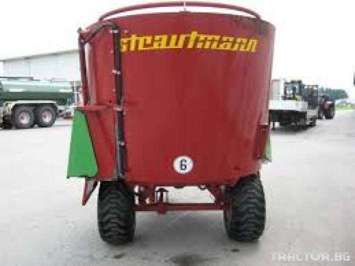 Машини за ферми STRAUTMANN 750 1 - Трактор БГ