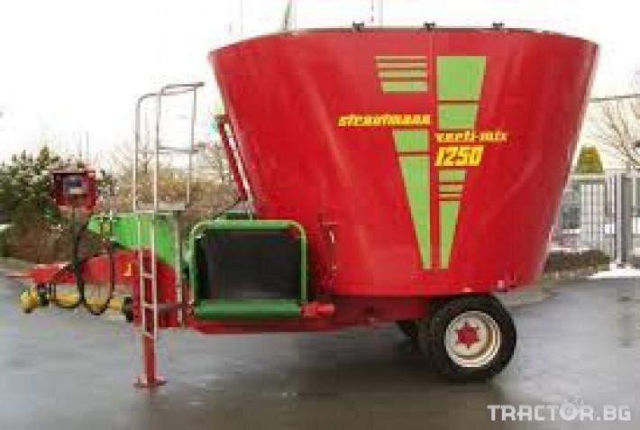 Машини за ферми STRAUTMANN 750 10 - Трактор БГ