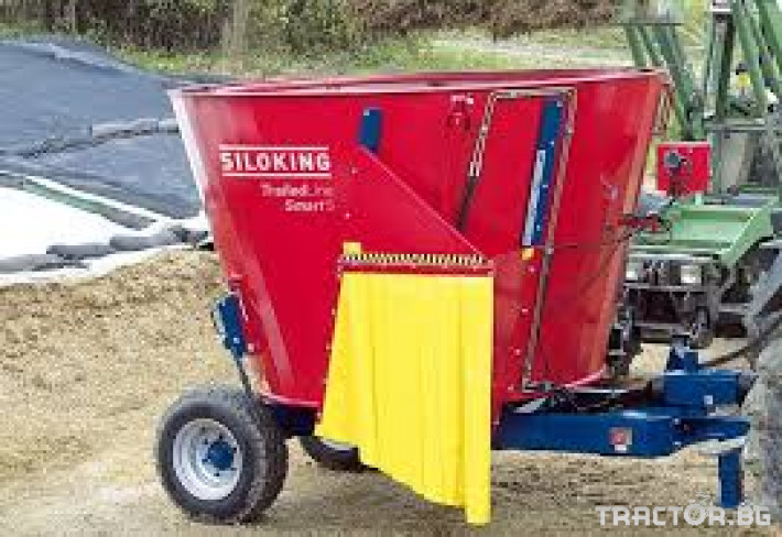 Машини за ферми STRAUTMANN 750 2 - Трактор БГ