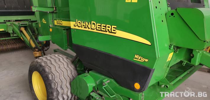 Сламопреси John-Deere Claas 592 МРЕЖА 1 - Трактор БГ