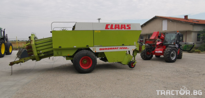 Сламопреси Claas John-Deere Quadrant 1200RC 0 - Трактор БГ