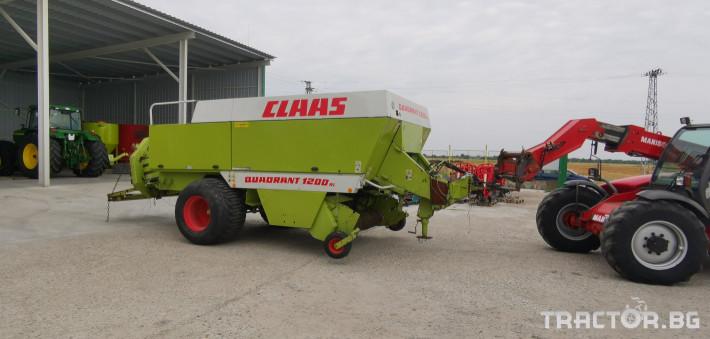 Сламопреси Claas John-Deere Quadrant 1200RC 1 - Трактор БГ