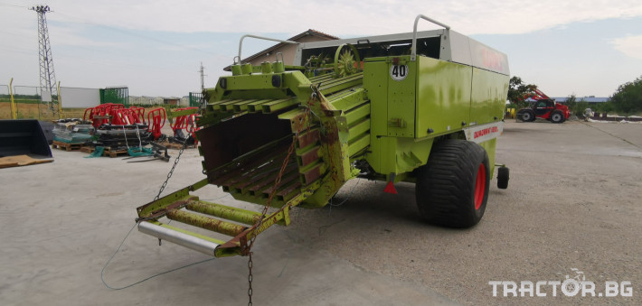 Сламопреси Claas John-Deere Quadrant 1200RC 2 - Трактор БГ