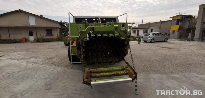 Сламопреси Claas John-Deere Quadrant 1200RC 3 - Трактор БГ