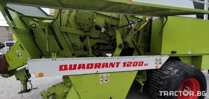 Сламопреси Claas John-Deere Quadrant 1200RC 6 - Трактор БГ