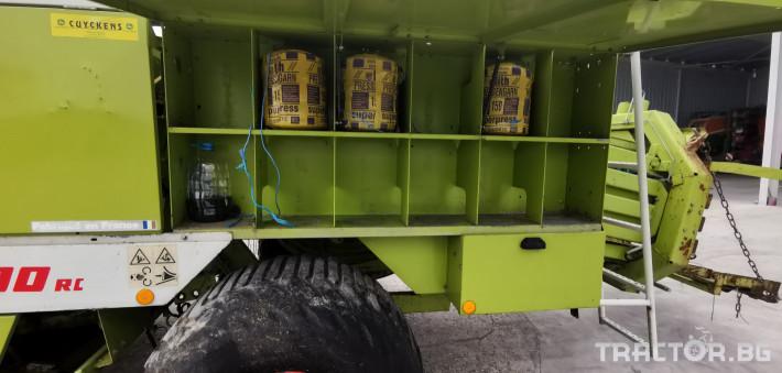 Сламопреси Claas John-Deere Quadrant 1200RC 8 - Трактор БГ