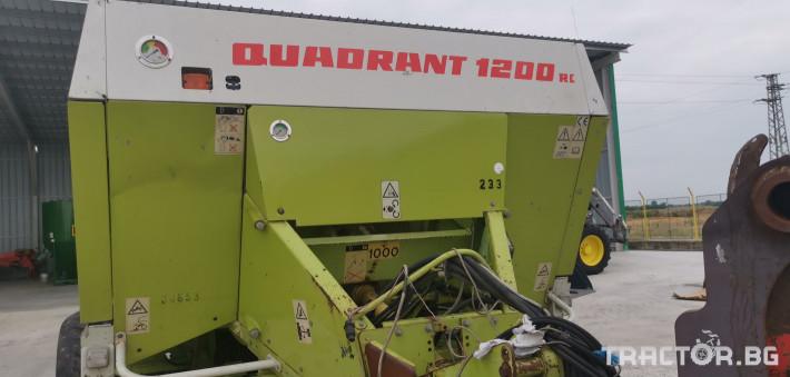 Сламопреси Claas John-Deere Quadrant 1200RC 11 - Трактор БГ