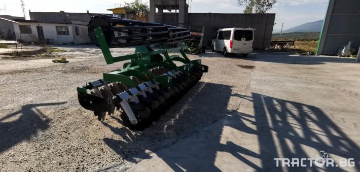 Брани Дискова брана AMJ AGRO 4 - Трактор БГ