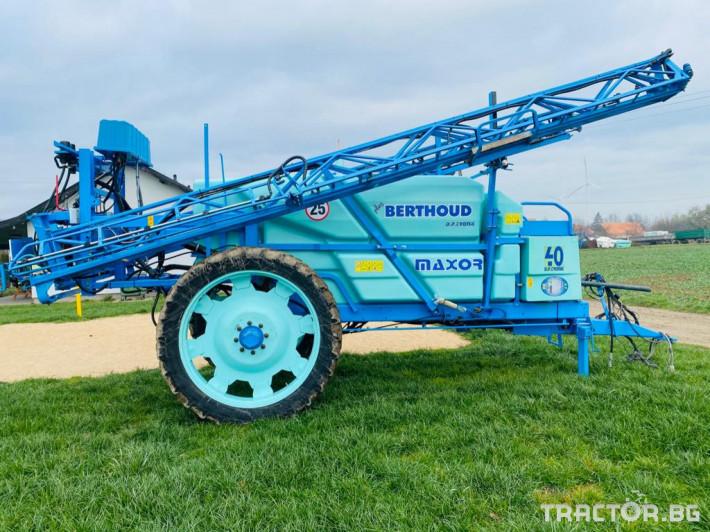 Пръскачки Berthoud Maxor 4000 1 - Трактор БГ