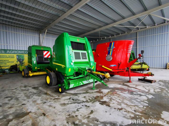 Сламопреси John-Deere 864 ,854 ,592, 590 4 - Трактор БГ