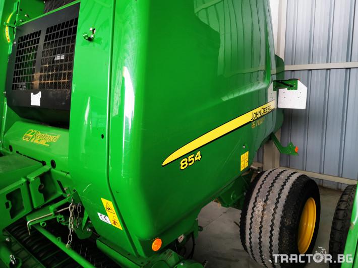 Сламопреси John-Deere 864 ,854 ,592, 590 6 - Трактор БГ