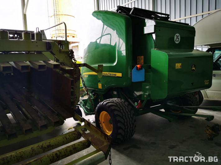 Сламопреси John-Deere 864 ,854 ,592, 590 7 - Трактор БГ