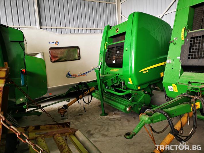 Сламопреси John-Deere 864 ,854 ,592, 590 8 - Трактор БГ