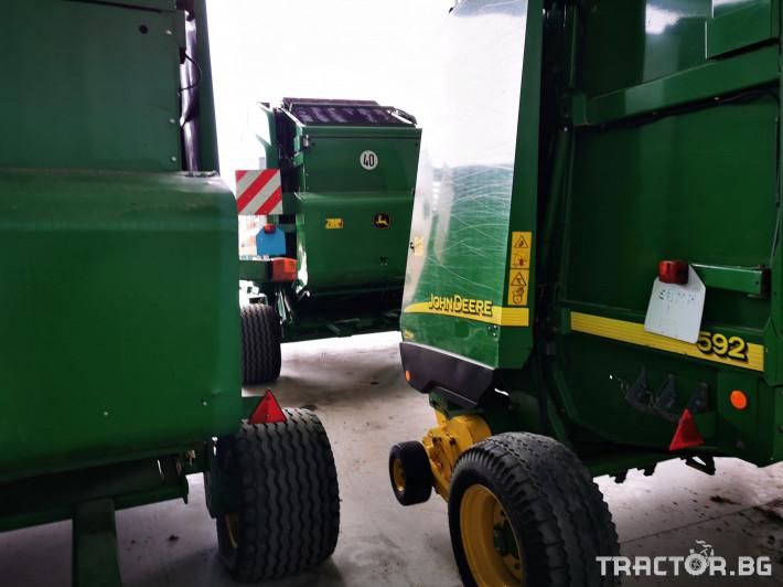Сламопреси John-Deere 864 ,854 ,592, 590 9 - Трактор БГ