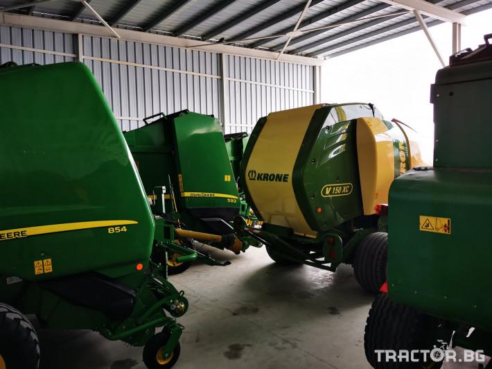 Сламопреси John-Deere 864 ,854 ,592, 590 10 - Трактор БГ