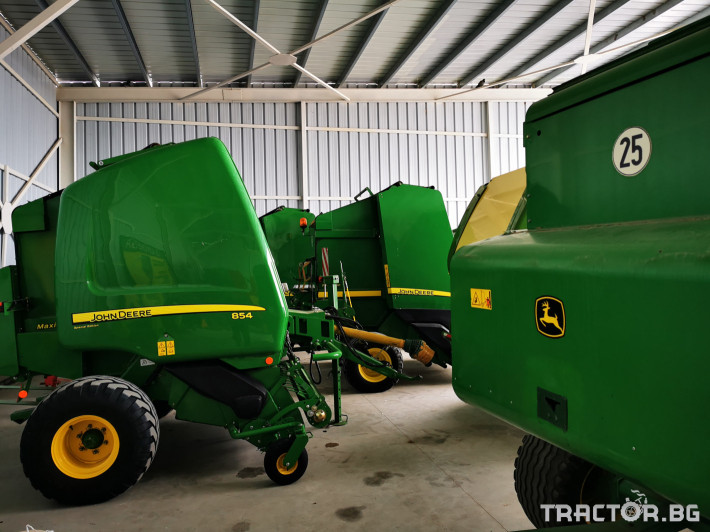 Сламопреси John-Deere 864 ,854 ,592, 590 11 - Трактор БГ