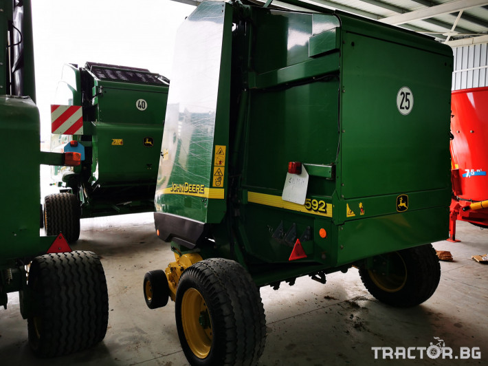 Сламопреси John-Deere 864 ,854 ,592, 590 12 - Трактор БГ