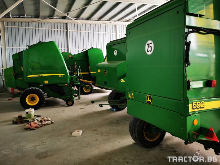 Сламопреси John-Deere 864 ,854 ,592, 590 14 - Трактор БГ