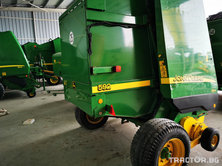 Сламопреси John-Deere 864 ,854 ,592, 590 15 - Трактор БГ