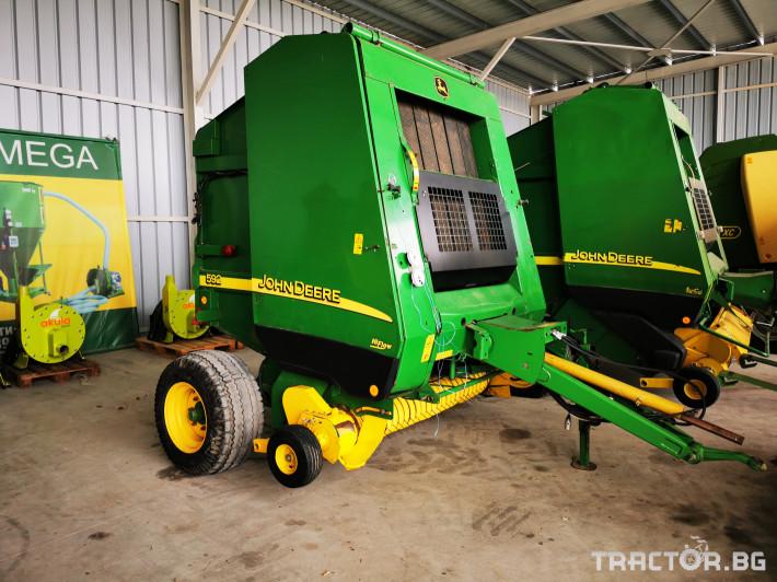 Сламопреси John-Deere 864 ,854 ,592, 590 17 - Трактор БГ