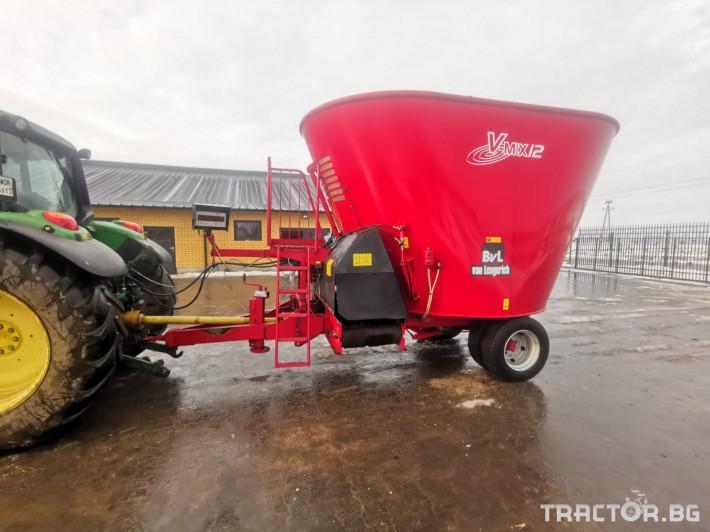 Машини за ферми Вертикален миксер BvL 10 0 - Трактор БГ