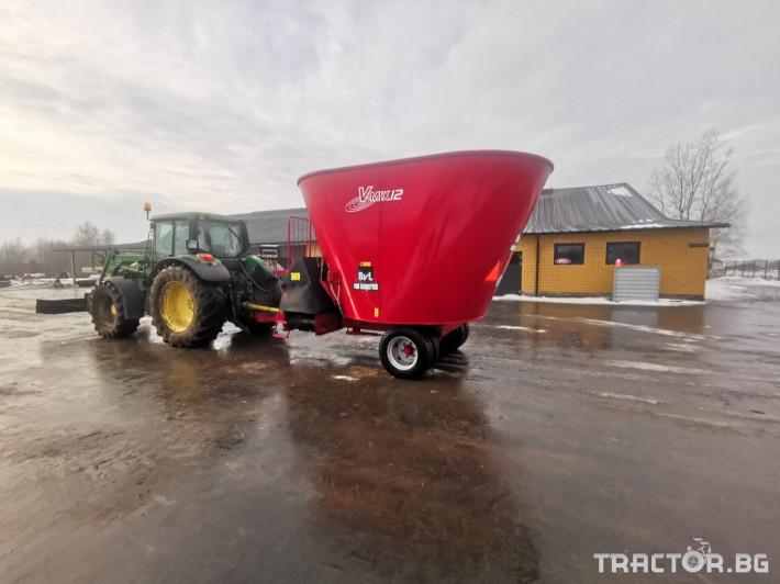 Машини за ферми Вертикален миксер BvL 10 2 - Трактор БГ