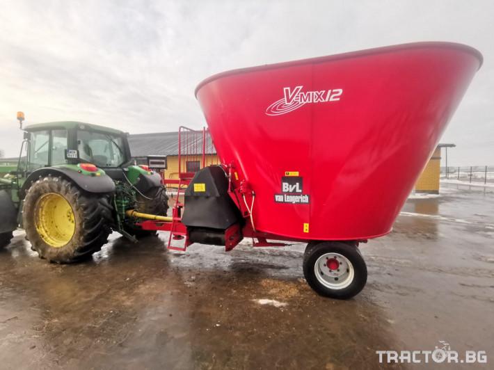 Машини за ферми Вертикален миксер BvL 10 3 - Трактор БГ