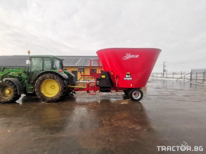 Машини за ферми Вертикален миксер BvL 10 7 - Трактор БГ