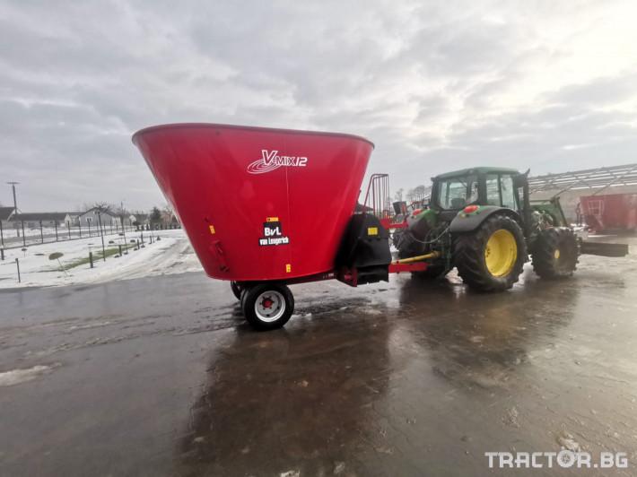 Машини за ферми Вертикален миксер BvL 10 8 - Трактор БГ
