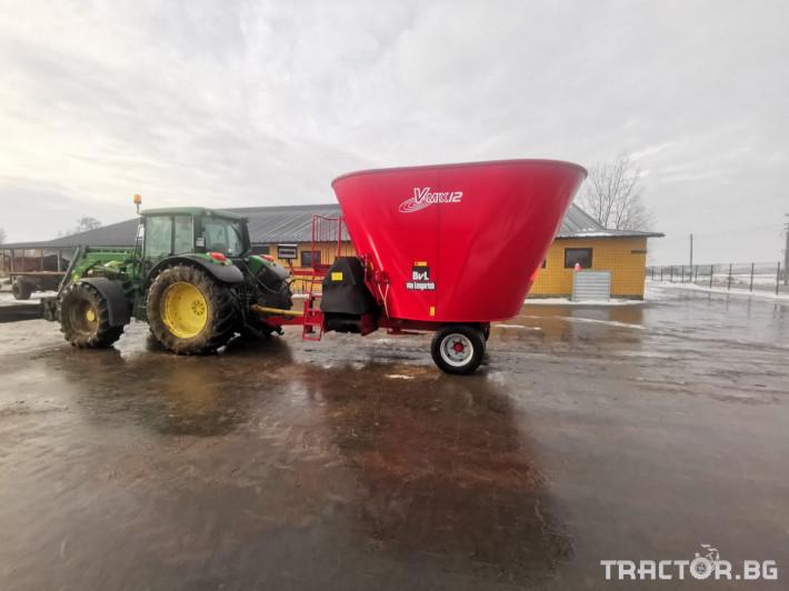 Машини за ферми Вертикален миксер BvL 10 9 - Трактор БГ