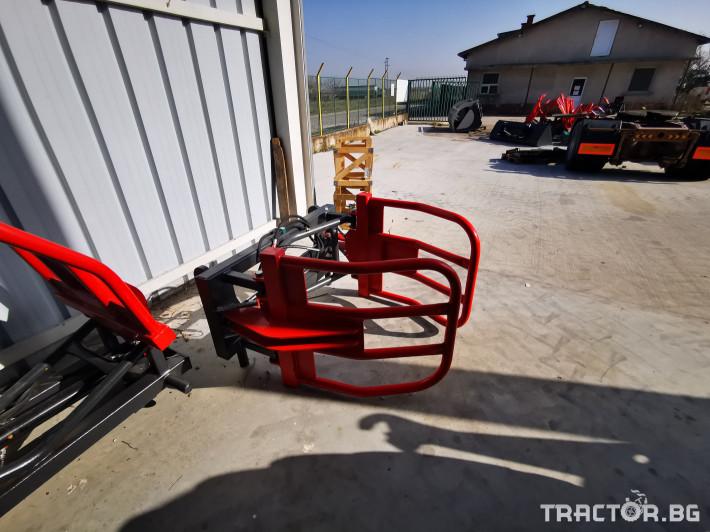 Машини за ферми Щипки за бали 2 - Трактор БГ