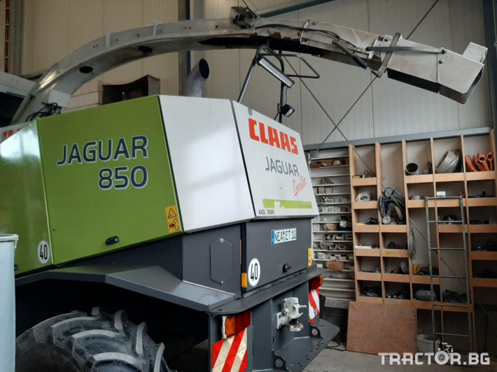 Комбайни Claas JAGUAR 850 0 - Трактор БГ