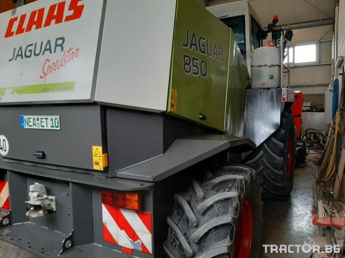 Комбайни Claas JAGUAR 850 2 - Трактор БГ