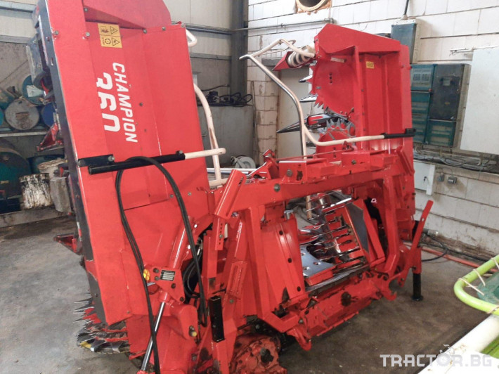 Комбайни Claas JAGUAR 850 16 - Трактор БГ