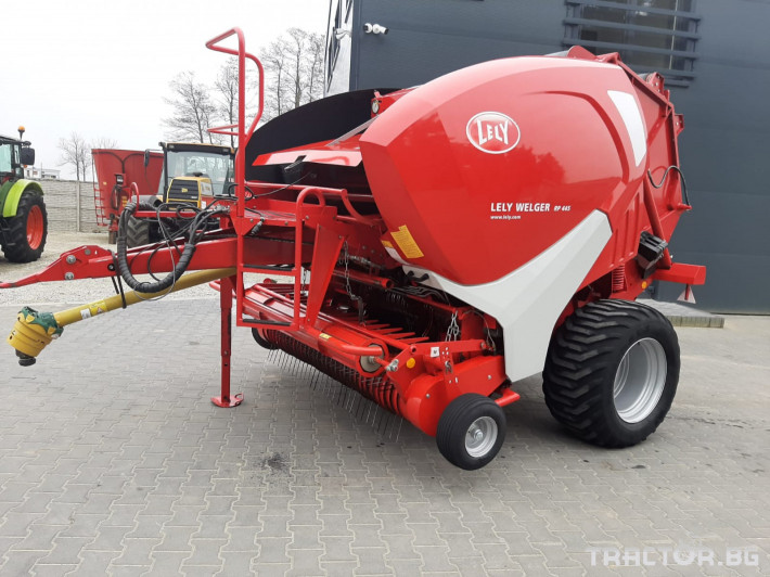 Сламопреси Welger Krone Lely - RP 445   - 9324БАЛИ 1 - Трактор БГ